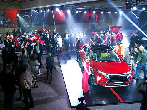 В Украине стартовали продажи кроссовера-купе Mitsubishi Eclipse Cross - Mitsubishi