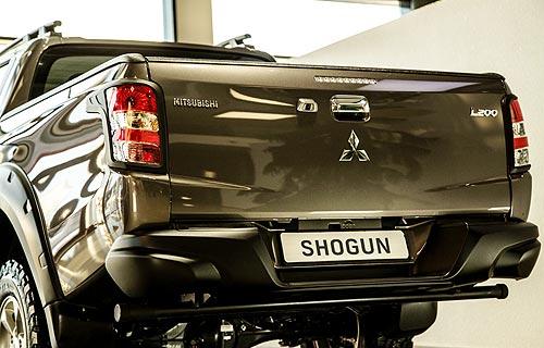 Mitsubishi L200 получил первую в стране ограниченную версию Shogun - Mitsubishi