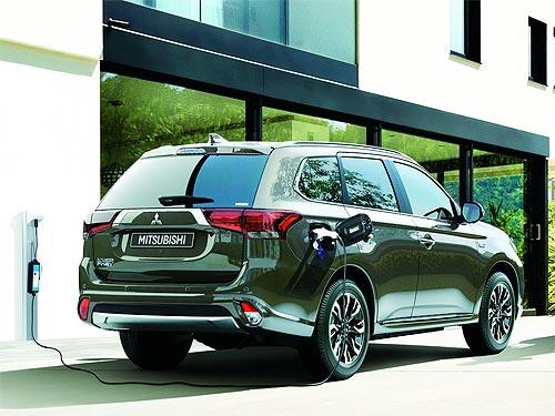 Продажи Mitsubishi Outlander PHEV в Европе уже превысили 100 000 штук - Mitsubishi