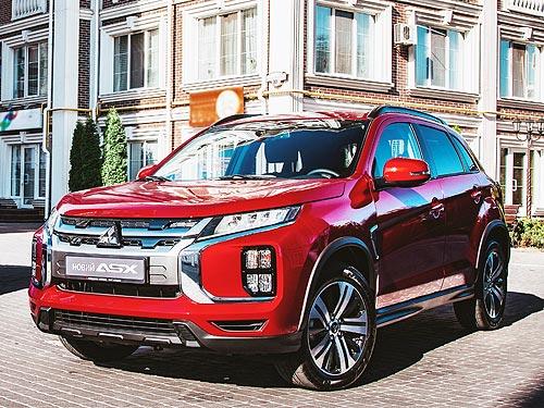 В Украине стартовали продажи нового Mitsubishi ASX