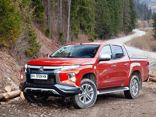 В Украине объявлены цены и стартовали продажи нового Mitsubishi L200