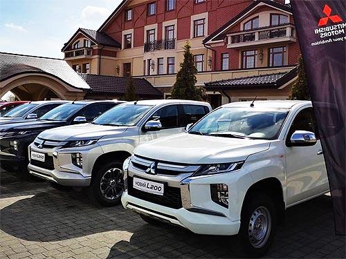 Новый Mitsubishi L200 уже в Украине и проходит тесты