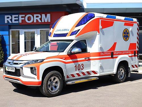 На базе Mitsubishi L200 создали автомобиль экстренной медицинской помощи Reform Infina