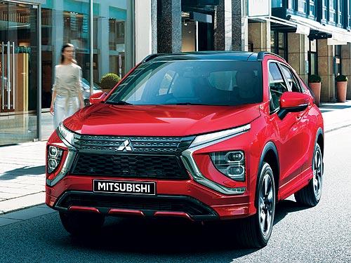 В Украине объявены цены и стартовали продажи нового Mitsubishi Eclipse Cross 2021