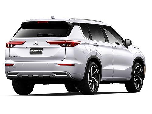 Новое поколение Mitsubishi Outlander появится в Украине в 2022 году - Mitsubishi