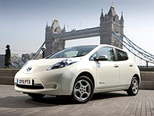 Nissan Leaf бьет рекорды по продажам - Nissan