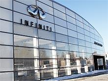 В Харькове открылся концептуальный автосалон Infiniti