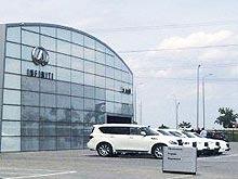 В Одессе открылся новый концептуальный дилерский центр Infiniti