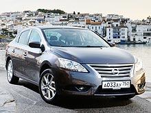 ����� �������� ���������� ���� �� ����� Nissan Sentra
