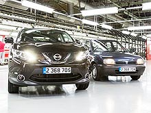 Nissan Qashqai становится рекордсменом по объемам производства в Европе