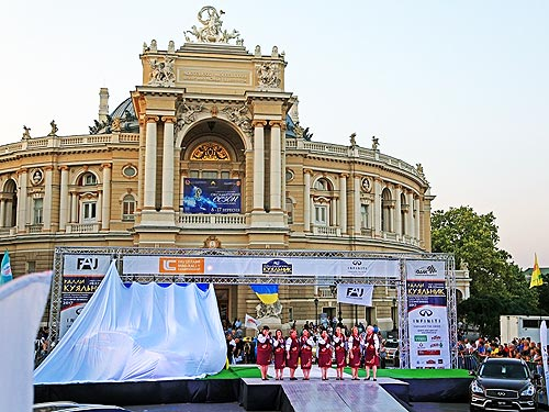 Дилер Infiniti в Одесской области поддержал ралли «Кубок Лиманов» - Infiniti