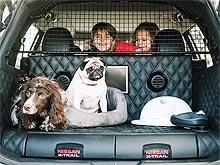 Nissan создал автомобиль для владельцев собак