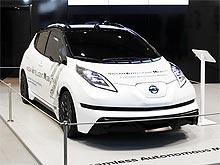 Nissan продемонстрировал новые разработки в области автономного управления - Nissan