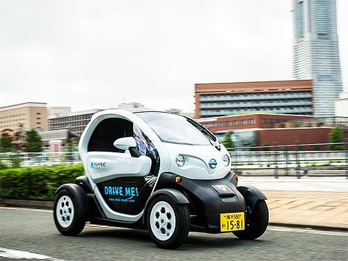 Nissan запустил сервис каршеринга новых сверхкомпактных электромобилей - Nissan