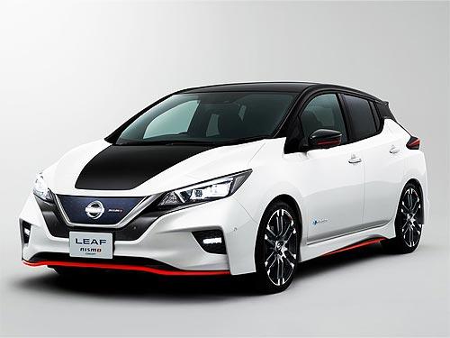 У Nissan LEAF появится спортивная версия NISMO