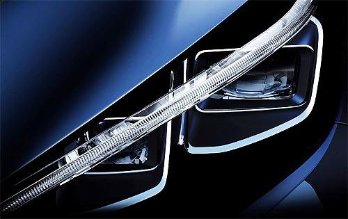 Появились первые фото нового Nissan LEAF - Nissan