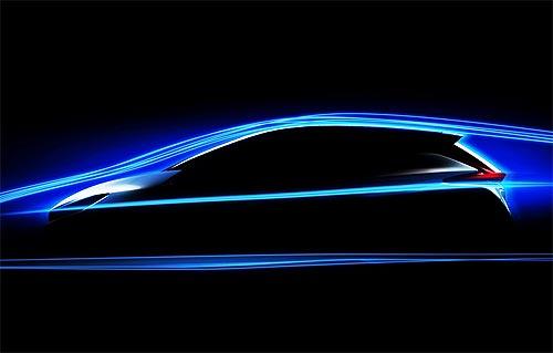 Новый Nissan LEAF будет иметь улучшенную аэродинамику. Появился новый тизер