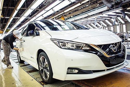 Новый Nissan LEAF будут выпускать на трех заводах