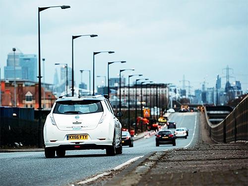 Nissan уже тестирует автономные автомобили в Европе - Nissan