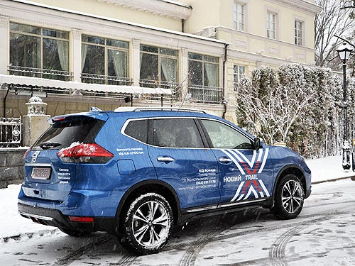 Что изменилось в обновленном Nissan X-Trail для украинского рынка. Первые впечатления - Nissan