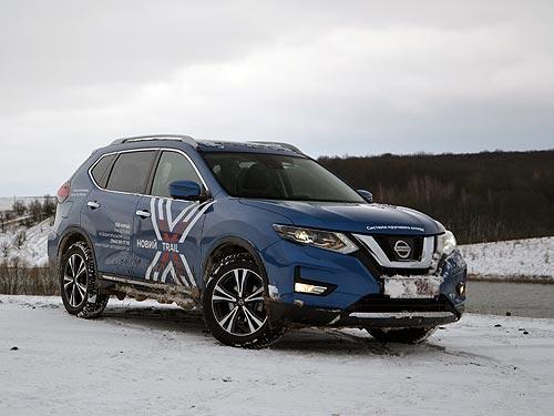 Тест-драйв обновленного Nissan X-Trail: Снежный рейд по худшим дорогам Украины - Nissan