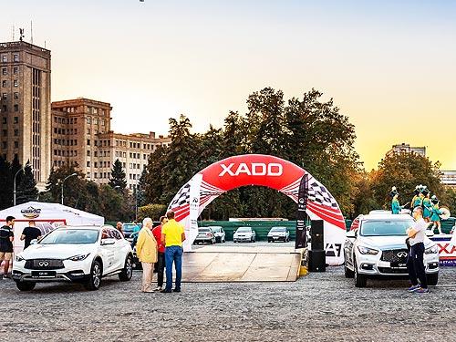 INFINITI QX30 и QX60 стали сейфти-карами на Кубке Лиманов