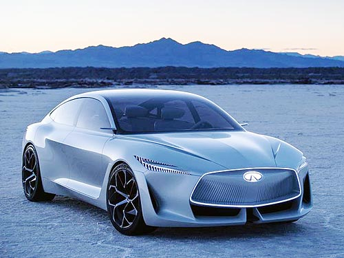 INFINITI начнет выпуск электромобилей с 2021 года