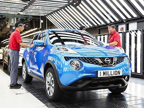 Завод Nissan в Великобритании выпустил миллионный Juke