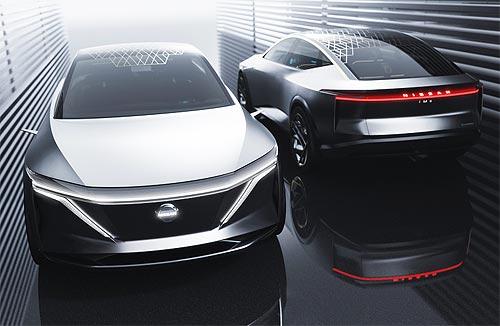 Nissan представил концепт спортседана повышенной комфортности