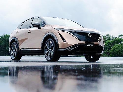 Подробности о новом электрическом купе-кроссовере Nissan Ariya