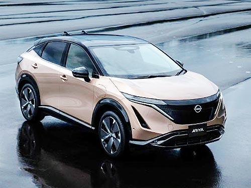 Nissan начнет официальные поставки электромобилей в Украину - Ariya