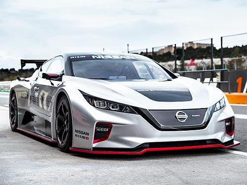 """Каким будет """"заряженный"""" электромобиль Nissan LEAF NISMO RC"""