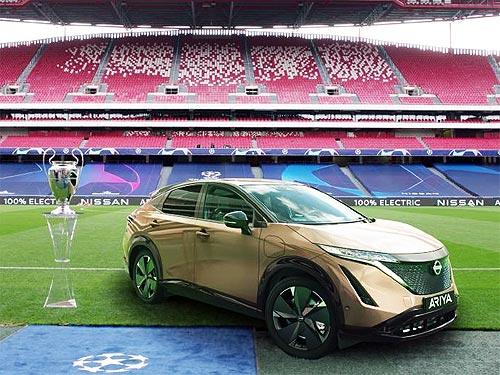 Владельцы Nissan LEAF смогут посмотреть финал Лиги чемпионов УЕФА