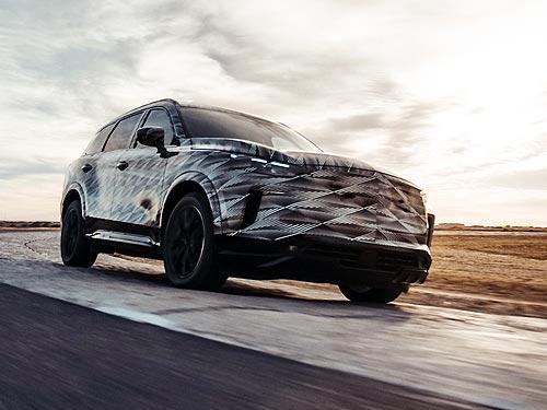 Новый INFINITI QX60 получит 3,5-литровый бензиновый двигатель и 9-ступенчатую АКП - INFINITI