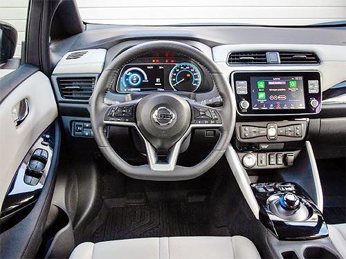 В Украине стартовали официальные продажи Nissan LEAF - Nissan