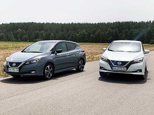 Почувствуйте разницу. Первое знакомство с официальным Nissan Leaf - Nissan