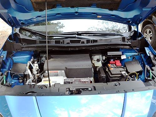 Nissan испытывает технологию утилизации электродвигателей