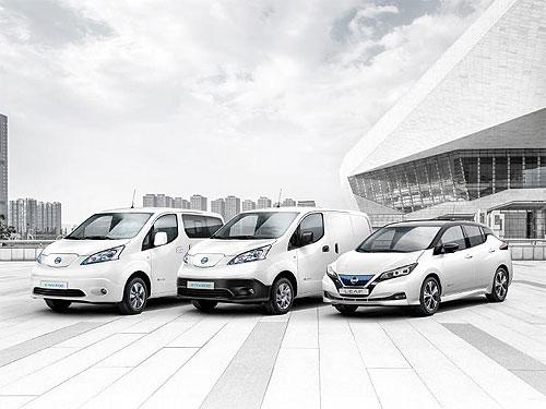 Продажи электромобилей Nissan в Европе превысили 250 тыс. шт.