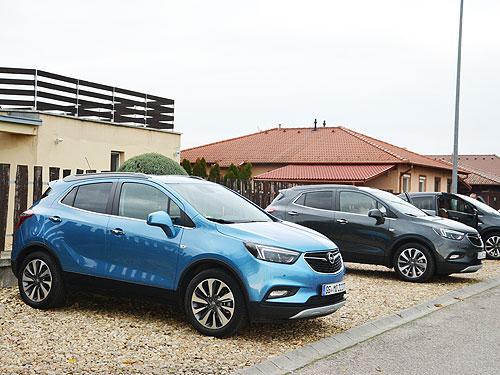 Компактный кроссовер Opel с кофейным названием Моkkа Х. Первое знакомство - Opel