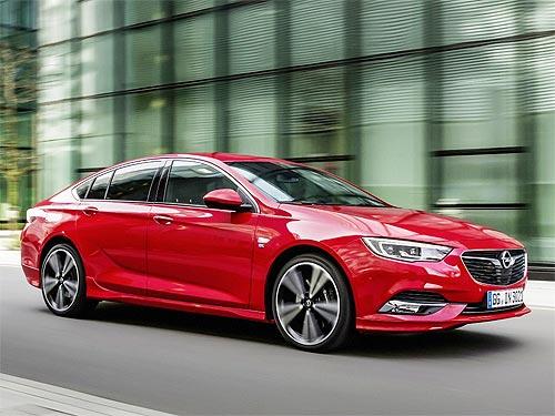 В Украине стартовали продажи нового поколения Opel Insignia