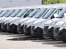 В Украине закуплена крупнейшая партия хлебных фургонов OPEL