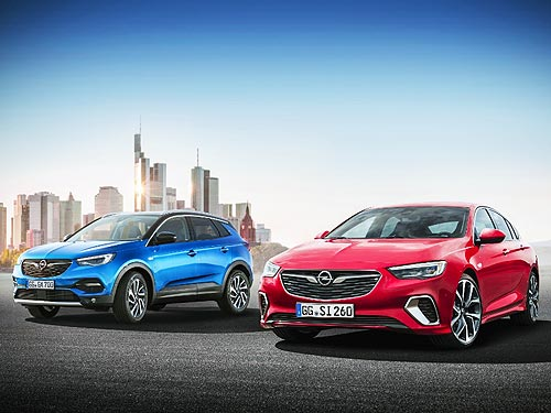 Opel уберет 3 старые модели и представит 8 новых