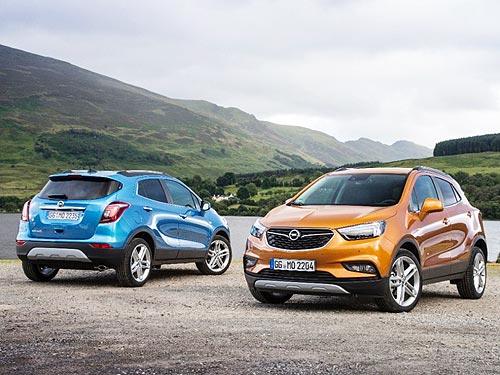 В Киеве и Одессе уже можно протестировать обновленный Opel Mokka X - Opel