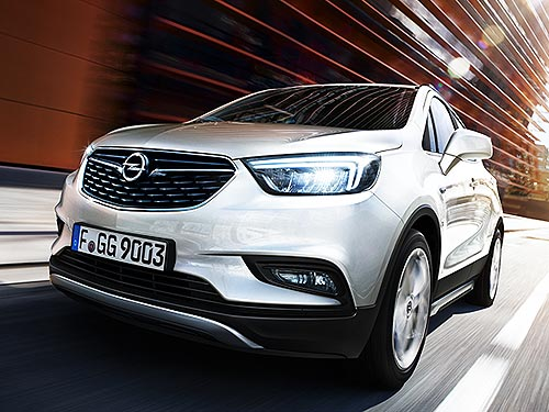 Opel Mokka Х доступен по акционным ценам