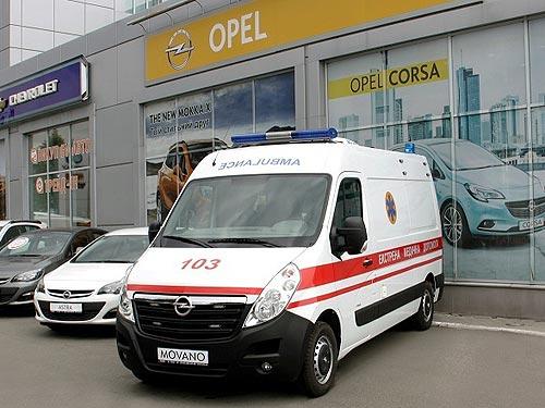 В Украине представят новый автомобиль «Скорой помощи»