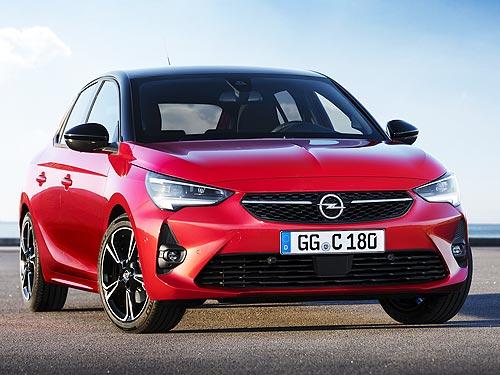 Opel Corsa уже в Украине. Объявлены цены
