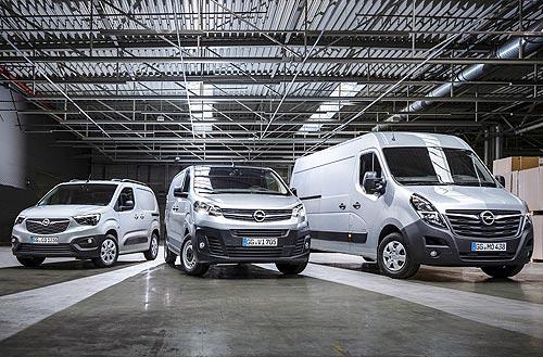 Opel снижает цены на все коммерческие автомобили в Украине - Opel