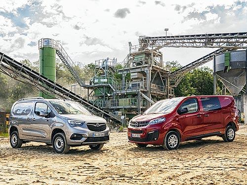 Opel Combo Cargo и Opel Vivaro теперь доступны с полным приводом 4х4