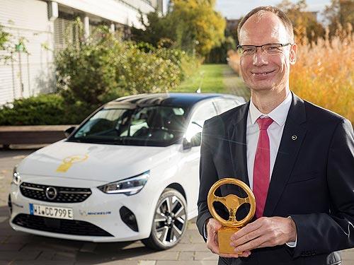 Заряжен на победу: новинка Opel Corsa-e выиграла престижную награду «Золотой руль 2020» - Opel