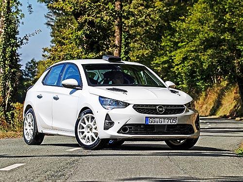 Opel выпустил гоночный Corsa Rally4 для участия в раллийных гонках
